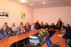 2018 SMC mokiniai Kelmės turizmo ir verslo informacijos centre