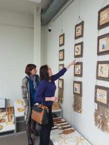 """2018 technologijų mokytojų ir 5-12 klasių mokinių  kūrybinių darbų paroda """"Čia mano Lietuva"""""""